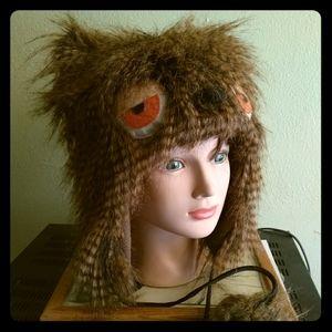 Owl-like monster hat. OS